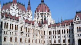 Edificio del parlamento en Budapest Foto de archivo libre de regalías