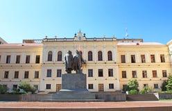 Edificio del parlamento en el bulevar de Rustaveli en Tbilisi, Georgia Fotografía de archivo libre de regalías