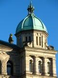 Edificio del parlamento en Victoria, Columbia Británica Foto de archivo libre de regalías