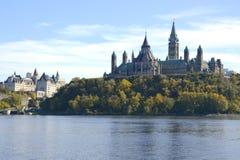 Edificio del parlamento - Ottawa Foto de archivo libre de regalías