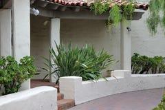 Edificio del pueblo del puerto, California Fotografía de archivo libre de regalías