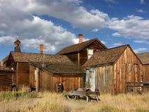 Edificio del pueblo fantasma Fotografía de archivo libre de regalías