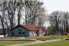 Edificio del restaurante Imágenes de archivo libres de regalías