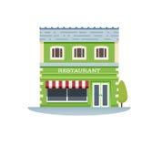 Edificio del restaurante Imagen de archivo libre de regalías