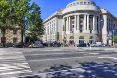 Edificio del Ronald Reagan, Washington DC Fotografie Stock