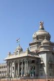 Edificio del soudha de Vidhana Imagen de archivo libre de regalías
