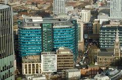 Edificio del St Botolph, ciudad de Londres fotografía de archivo