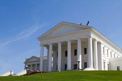 Edificio del Statehouse de Virginia Imagenes de archivo