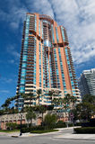 Edificio del sud della Florida Immagini Stock