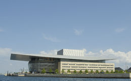 Edificio del teatro de la ópera Fotografía de archivo libre de regalías