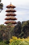 Edificio del templo del chino tradicional Fotos de archivo libres de regalías
