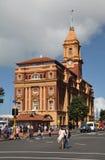 Edificio del transbordador de Auckland, Nueva Zelandia Fotos de archivo