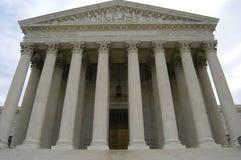 Edificio del Tribunal Supremo Fotos de archivo