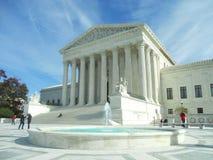 Edificio del Tribunal Supremo Casa del blanco de la C C Fotografía de archivo libre de regalías