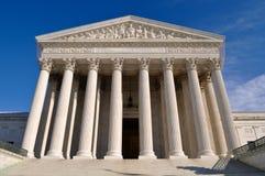 Edificio del Tribunal Supremo de los E.E.U.U. en Washington DC imagenes de archivo