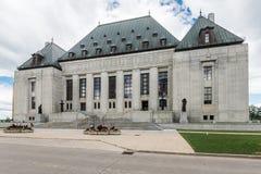 Edificio del Tribunal Supremo en Ottawa Imagenes de archivo