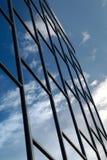 Edificio del vidrio azul Foto de archivo