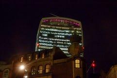 Edificio del Walkietalkie de la calle de 20 Fenchurch - Londres, Reino Unido Imagen de archivo libre de regalías