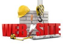 Edificio del Web site. Foto de archivo