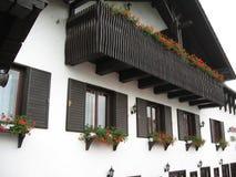 Edificio delantero del hotel Imagenes de archivo