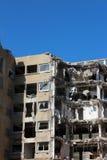 Edificio demolido Fotografía de archivo libre de regalías