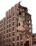 Edificio destruido fotografía de archivo