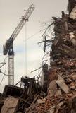Edificio destruido fotos de archivo