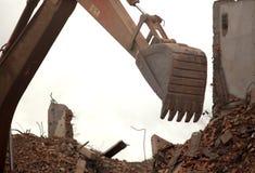 Edificio destruido imagen de archivo