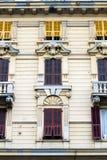 Edificio detallado, clásico, bien adornado, arquitectónico Fotografía de archivo libre de regalías