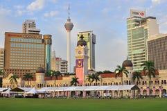 Edificio di Abdul Samad del sultano Immagine Stock
