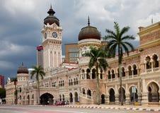 Edificio di Abdul Samad del sultano di Bangunan Immagine Stock