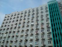 Edificio di Apartement Immagini Stock