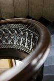 Edificio di Arrott - scala di marmo a spirale a metà circolare - Pittsburgh del centro, Pensilvania fotografia stock libera da diritti