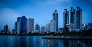 Edificio di Bangkok Fotografia Stock Libera da Diritti