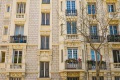 Edificio di Beautyful nello stile barrocco Immagini Stock