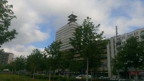 Edificio di Bielefeld Telekom Immagine Stock Libera da Diritti