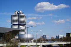 Edificio di BMW a Monaco di Baviera Fotografia Stock