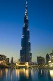 Edificio di Burj Khalifa Fotografia Stock Libera da Diritti