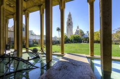 Edificio di California, parco della balboa Immagine Stock Libera da Diritti