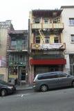 Edificio di Chineese - San Francisco - California fotografie stock libere da diritti