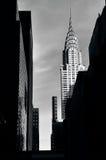 Edificio di Chrysler in Manhattan New York Fotografie Stock
