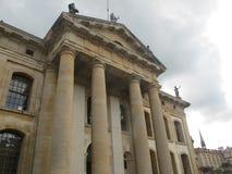 Edificio di Clarendon a Oxford fotografie stock
