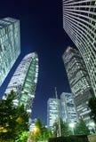Edificio di Corporated a Tokyo Immagine Stock