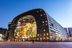 Edificio di Corridoio del mercato di Rotterdam Immagini Stock