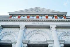 Edificio di Corridoio nell'istituto universitario Fotografie Stock