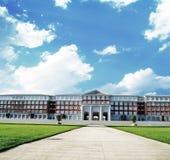 Edificio di Corridoio nell'istituto universitario Immagini Stock