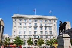 Edificio di Cunard, Liverpool Immagini Stock