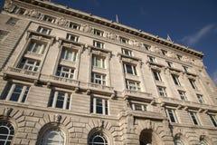 Edificio di Cunard, Liverpool Fotografia Stock Libera da Diritti