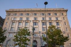 Edificio di Cunard; Pier Head; Liverpool Fotografie Stock Libere da Diritti