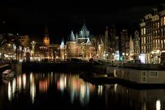 Edificio di De Waag a Amsterdam immagine stock